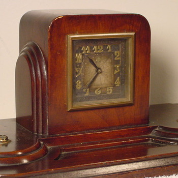 1929 Herman Miller Clock, Model #3064, with Leon Hatot ATO Movement - Art Deco
