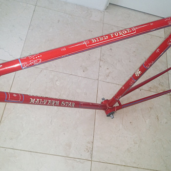 1963 Team Issued Custom Malvern Star 5 Star Track Frame - Sporting Goods