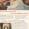 1951 - General Electric Heated Blankets Advertisement