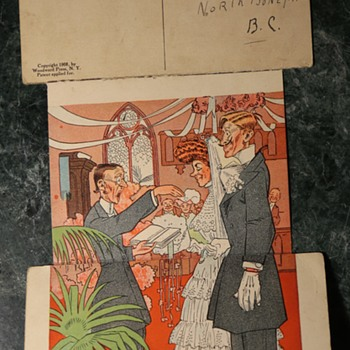 Another interesting old postcard - Postcards