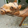 For ho2cultcha Leather Camel from Mexico and wood Giraffe Africa