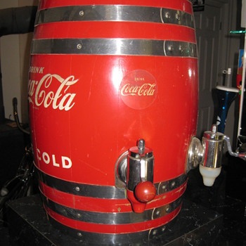 Coca-Cola Dispenser Barrel - Coca-Cola