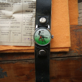 Another Russian Mickey - Wristwatches