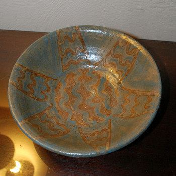 Art Pottery Bowl - Pottery