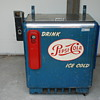 Pepsi vending machine nice old piece!!