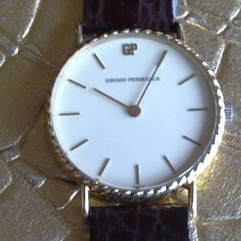 GIRARD PERRAGAUX ULTRA SLIM MANUAL WIND - Wristwatches