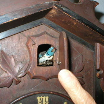 Antique Cuckoo Clock, searching history about this?