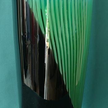 HUGE ?Italian Glass Vase - Art Glass