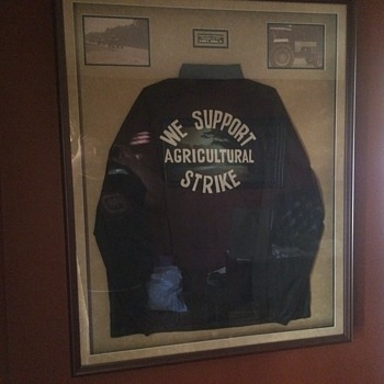 Agriculture Strike jacket