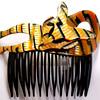 Lea Stein Vintage Hair Comb Barrette