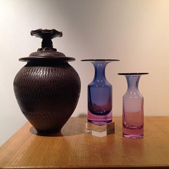 TAPIO WIRKKALA 3539 NEODYMIUM #2 - Art Glass