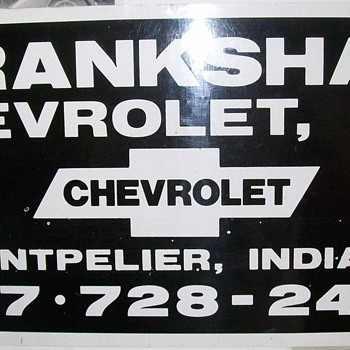 Chevrolet Magnets - Classic Cars