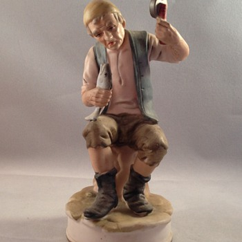 Fisherman Figurine  - Figurines
