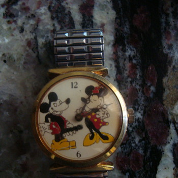 Dirty mickey & Minnie   - Wristwatches