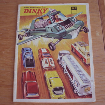 DINKY TOYS 1969 TOY CATALOG