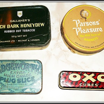 Some other Tobacco Tins ...and an OXO Tin