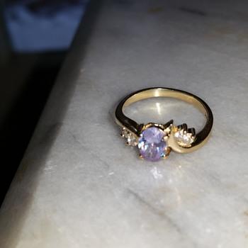 14k amethyst ring - Fine Jewelry