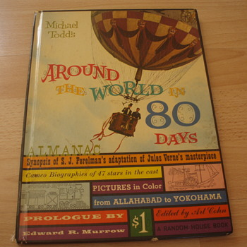 AROUND THE WORLD IN 80 DAYS - Books