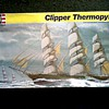 """Revelle"" Ship Model 1:96 Scale (box misprint as 1:70) /"" The Clipper Ship Thermopylae"" Kit #5622/ Circa 1988"
