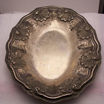 Mystery Silver Dish