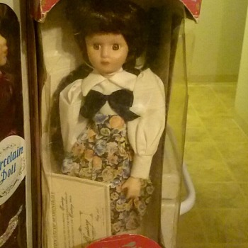 Century porcelain doll - Dolls