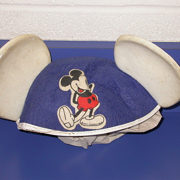 Vintage Mickey Mouse Ears Hat
