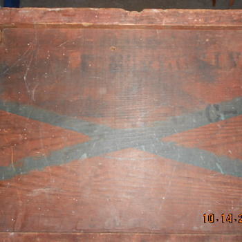 Old Wood Box, maybe military? - Military and Wartime