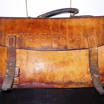 1950s Telephone Repairman's Toolcase - Telephones