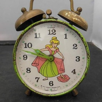Phinney Walker Disney Alarm Clocks for 1969