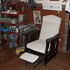 Antique Glider/Recliner w/attached footstool