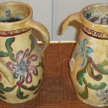 Antique Folk Pottery