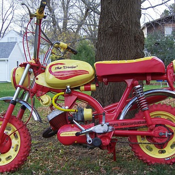 1972 AMF Harley-Davidson MC65 Shortster Mini Cycle
