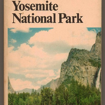 1967 - Yosemite National Park - Tour Book - Books