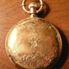 My 1876 B.W. Raymond gold pocket watch, Elgin Ill.
