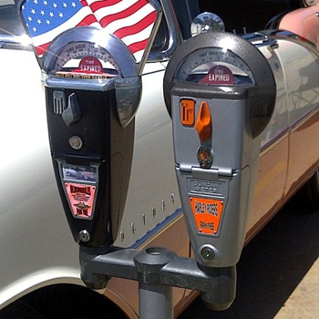 Custom 1950s Duncan-Miller parking meters