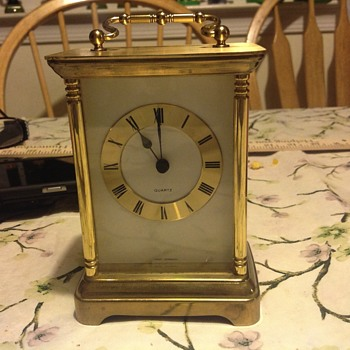 Small Mantel Clock Unknown Maker