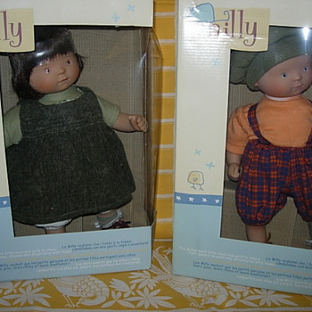 White Balloon Milly dolls - Dolls
