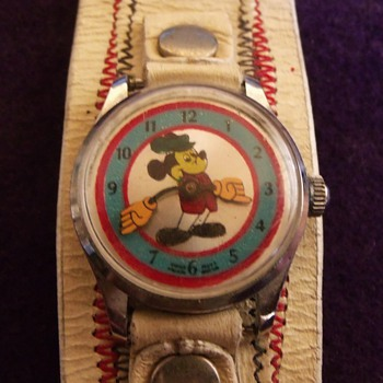 1967 Unauthorized Mickey Mouse Wrist Watch - Wristwatches