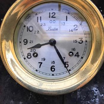 My Boston Ship's Clock  11784 - Clocks