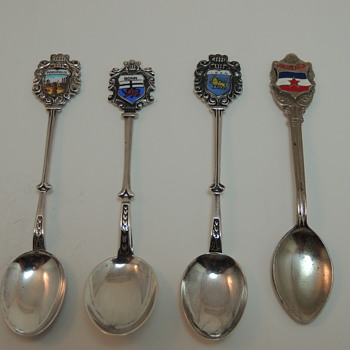 Souvenir Spoons - Page I - Advertising