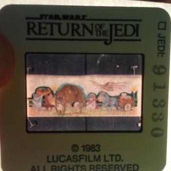 Star Wars movie Slides from 1982 - Movies