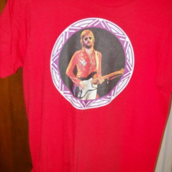 VINTAGE ERIC CLAPTON IRON ON T-SHIRT
