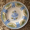 Spongeware? hand-thrown large plate