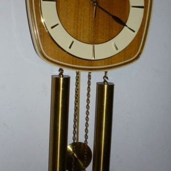 Junghans Mid Century Wall Clock (pendulum)