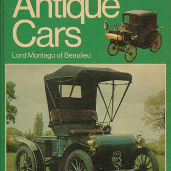 1974 Antique Cars - Book