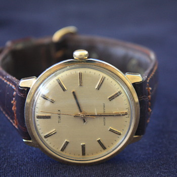 Vintage Men's TIMEX Mechanical Hand-Wind WRISTWATCH, Made In USA, 1977