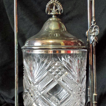Victorian Pickle Castor by Poole Silver Co. Taunton Mass.