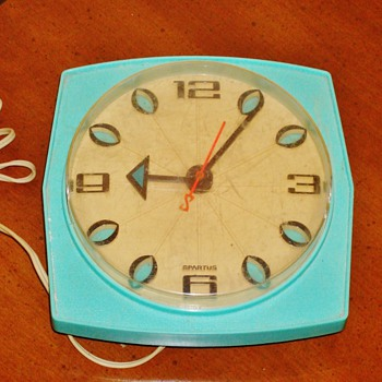 Spartus Wall Clock