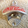 My vintage coca cola bottle opener