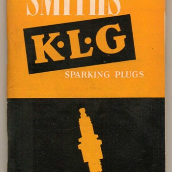 1954 - K.L.G. Motorcycle Spark Plugs Booklet - Paper